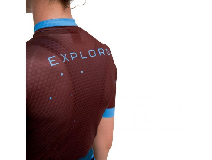 3T Exploro Woman Jersey blue/brown